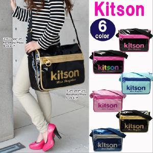 キットソン バッグ キットソン ショルダー バッグ PVC かぶせ メッセンジャー 斜め掛け Kitson キットソン バッグ 全6色 ag86100|store-goods