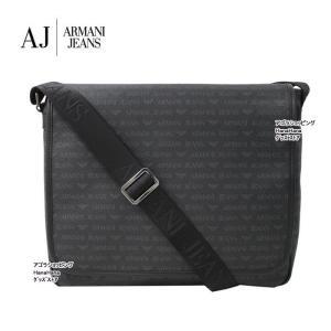 アルマーニジーンズ  バッグ  932531 996 SUITABLE FOR LAPTOP NERO モノグラムデザイン ショルダーバッグ ARMANI JEANS ag-868500|store-goods