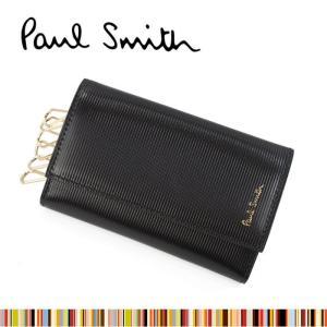 ポールスミス キーケース 1981 W774 バイカラー カーフレザー 6連フック キーケース PAUL SMITH ポールスミス ag-881700 store-goods