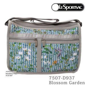 レスポートサック バッグ 7507 D937 Blossom Garden デラックスエブリデイ  斜め掛け   ショルダーバッグ LESPORTSAC ag-889300|store-goods