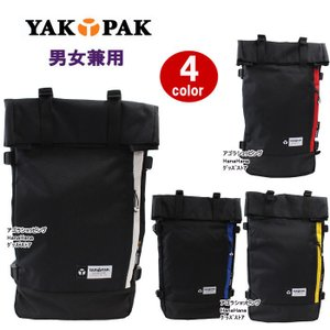 YAKPAK ヤックパック バッグ リュック YP2021NS RUCKSACK デイバッグ バックパック 男女兼用 全4カラー ag-897500|store-goods
