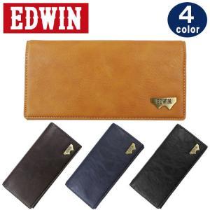 エドウイン EDWIN  財布 12289937 長財布 グレイン合皮 Wメタル 折り財布 エドウィン ag-903200|store-goods