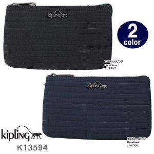 キプリング ポーチ K13594 Kipling Creativity L ステッチ型押しデザイン 化粧ポーチ ag-915900 store-goods
