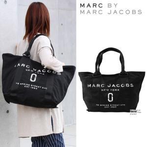 マークバイマークジェイコブス バッグ かすれロゴ M0011223-001 トートバッグ   大サイズ ハンド MARC BY MARC JACOBS ag-916600 |store-goods