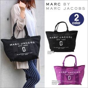 マークバイマークジェイコブス バッグ かすれロゴ M0011222-001 533 トートバッグ   中サイズ ハンド MARC BY MARC JACOBS ag-916700|store-goods