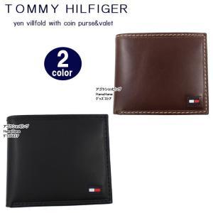 トミーヒルフィガー 二つ折財布 31TL25X014 レザー  メンズ トミー TOMMY HILFIGER ag-920500 store-goods