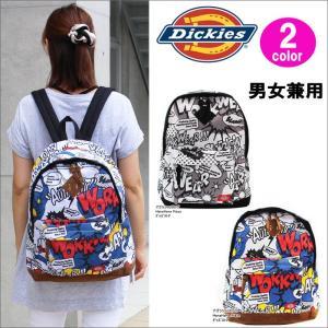 ディッキーズ リュック 17833400 アメコミ バックパック Dickies 男女兼用 ag-924000|store-goods