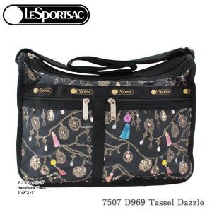 レスポートサック バッグ 7507 D969 TASSEL DAZZLE デラックスエブリデイ  斜め掛け  Deluxe Everyday Bag ショルダーバッグ LESPORTSAC ag-936000|store-goods