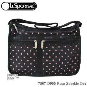 レスポートサック バッグ 7507 D955 ROSA SPECKLE デラックスエブリデイ  斜め掛け  Deluxe Everyday Bag ショルダーバッグ LESPORTSAC ag-936100|store-goods