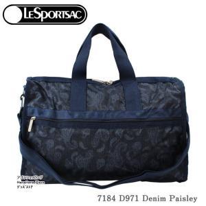 レスポートサック バッグ 7184 D971  DENIM PAISLEY ボストンバッグ ミディアムウィークエンダー MEDIUM WEEKENDER ボストン LESPORTSAC レスポ ag-936600|store-goods