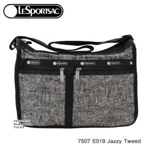 レスポートサック バッグ 7507 E019 Jazzy Tweed デラックスエブリデイ  斜め掛け  Deluxe Everyday Bag ショルダーバッグ LESPORTSAC ag-950100|store-goods