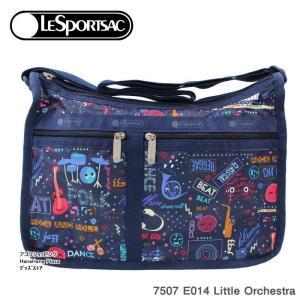 レスポートサック バッグ 7507 E014 Little Orchestra デラックスエブリデイ  斜め掛け  Deluxe Everyday Bag ショルダーバッグ LESPORTSAC ag-950300|store-goods