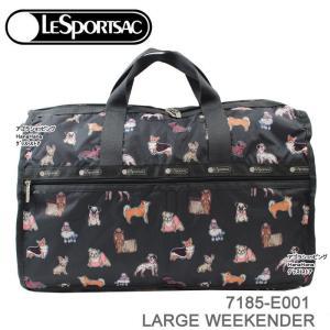 レスポートサック バッグ 7185 E001 TAKE A BOW BOW ボストンバッグ ラージウィークエンダー LARGE WEEKENDER ボストン LESPORTSAC レスポ ag-960800 store-goods