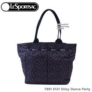 レスポートサック バッグ 7891 E121 Ditsy Dance Party エブリガールトート EveryGirl Tote  舟形 バッグ LESPORTSAC レスポートサック  ag-961100 store-goods