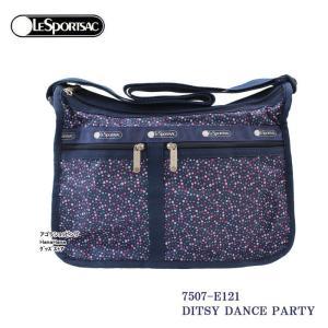 レスポートサック バッグ 7507 E121 DITSY DANCE PARTY デラックスエブリデイ  斜め掛け  Deluxe Everyday Bag ショルダーバッグ LESPORTSAC ag-961500|store-goods