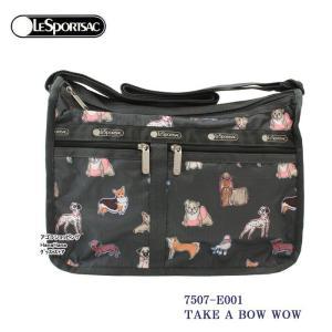 レスポートサック バッグ 7507 E001 TAKE A BOW WOW デラックスエブリデイ  斜め掛け  Deluxe Everyday Bag ショルダーバッグ LESPORTSAC ag-961700|store-goods