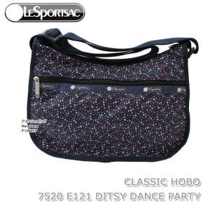 レスポートサック バッグ 7520 E121 DITSY DANCE PARTY 斜め掛け ショルダーバッグ CLASSIC HOBO クラシック ホーボー LESPORTSAC ag-962100 store-goods