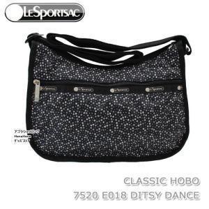 レスポートサック バッグ 7520 E018 DITSY DANCE 斜め掛け ショルダーバッグ CLASSIC HOBO クラシック ホーボー LESPORTSAC ag-962200 store-goods