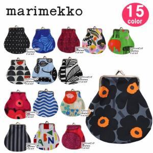 マリメッコ アソートカラー 丸形 がま口 039878-001 035863-001 marimekko ポーチ PIENI KUKKARO MINI UNIKKO ag-980100|store-goods