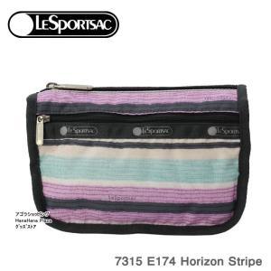 レスポートサック ポーチ 7315 E174 HORIZON STRIPE トラベル コスメティック TRAVEL COSMETIC 化粧ポーチ レスポートサック Lesportsac ag-999100|store-goods