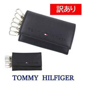 【訳あり返品不可】cc-017 cc-018トミーヒルフィガー キーケース 31TL17X005 TOMMY HILFIGER 型押しロゴ レザー 6連フック|store-goods