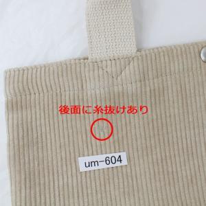 【訳あり返品不可】 um-604 コンバース バッグ 14038300 74 CORDUROY MINI TOTE BAG コーデュロイ ミニ トート バッグ|store-goods|05