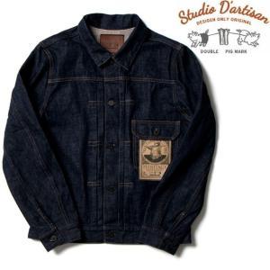 100年以上前のデニムジャケット通称『1stタイプ』をイメージしているため、泥臭くサビた感じに仕上げ...