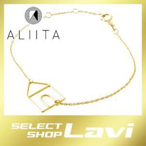 アリータ ALIITA CASTIA PURA CHAIN BRACELET 9KYG カシータ 家モチーフ ブレスレット ラッピング無料|store-jck