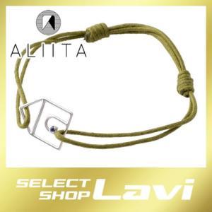 アリータ ALIITA CASTIA ZAFIRO CORD BRACELET 9KWG×BLサファイア カシータ 家モチーフ コード ブレスレット ラッピング無料|store-jck
