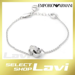 エンポリオアルマーニ EG3047040 イーグルモチーフ ラインストーン ブレスレット シルバー925 ラッピング無料 store-jck
