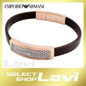 エンポリオアルマーニ EGS2138221 イーグルロゴ メンズ レザー ブレスレット ラッピング無料 store-jck
