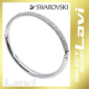 スワロフスキー 5032846 Stone Mini  クリスタル パヴェ バングル Mサイズ ラッピング無料|store-jck
