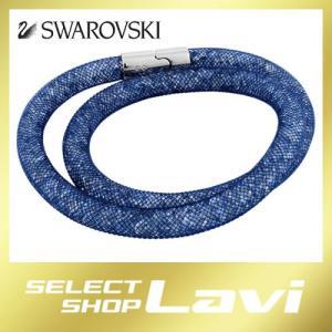 スワロフスキー 5184173 スターダスト ダブルラップ 2重巻 ブラッシュ クリスタル ブレスレット Sサイズ ラッピング無料|store-jck