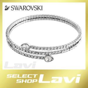 スワロフスキー 5073592 Twisty Cuff Drop ペアシェイプクリスタル パヴェ スパイラル カフ バングル ブレスレット ラッピング無料|store-jck