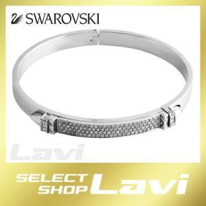 スワロフスキー 5184156 Distinct Narrow クリスタルパヴェ バングル ブレスレット Sサイズ ラッピング無料|store-jck