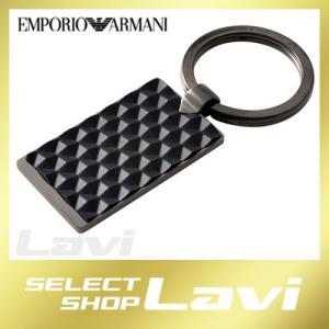 エンポリオアルマーニ EMPORIO ARMANI EGS2410060 スクエア メンズ キーリング キーホルダー ラッピング無料|store-jck