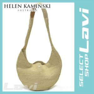 ヘレンカミンスキー Kea Natural   2015SS ケア ラフィア製 手編み ハーフムーン型 ショルダーバッグ ナナメ掛け かごバッグ ラッピング無料|store-jck