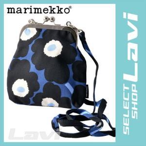 マリメッコ marimekko 045120 595 コットンキャンバス がま口 ミニ ショルダーバッグ MINI-UNIKKO PIENI KUKKARO ラッピング無料|store-jck