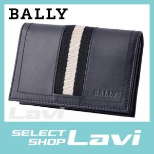 バリー BALLY TOBEL 517 6187211 メンズ バリーストライプ カードケース 名刺入れ ラッピング無料|store-jck