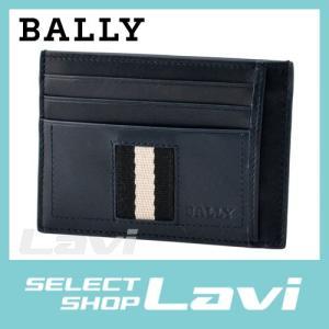 バリー BALLY TORIN.T 517 6187221 メンズ バリーストライプ カードケース 名刺入れ ラッピング無料|store-jck