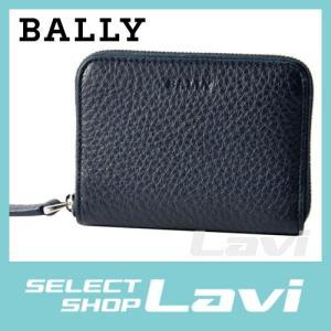 バリー BALLY MEBIOT 447 6202743 ラウンドファスナー カードケース 名刺入れ ラッピング無料|store-jck