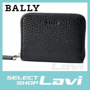 バリー BALLY MEBIOT 780 6202686 ラウンドファスナー カードケース 名刺入れ ラッピング無料|store-jck