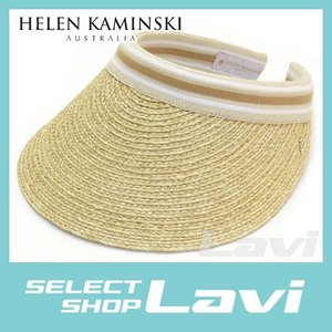 ヘレンカミンスキー 2015SS ビアンカ UPF50  クリップ サンバイザー ラフィア製ハット レディス帽子 ラッピング無料|store-jck