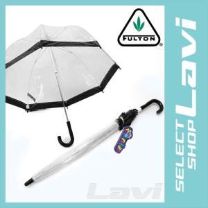 フルトン C603 004517 Funbrella-2 Black 子供用 キッズ用 ビニール傘 長傘 バードケージ ミニ アンブレラ ラッピング無料|store-jck