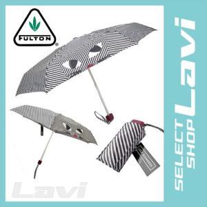 フルトン Fulton L717 030691 Tiny-2 Kooky Cat Lulu Guinness ルルギネス コラボ 長方形 軽量 折りたたみ傘 アンブレラ ラッピング無料|store-jck