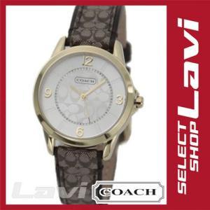コーチ 腕時計 シグネチャーインデックス シグネチャーストラップ レディス レザーストラップウオッチ 14501613 ラッピング無料 store-jck