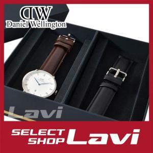 ダニエルウェリントン 腕時計/替えベルトセット Daniel Wellington DW4-Mens Set-Silver  ダッパー メンズ ラッピング無料|store-jck