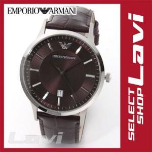 エンポリオアルマーニ メンズ 腕時計 ビジネスユース レザーストラップ ウオッチ AR2413 ラッピング無料 store-jck