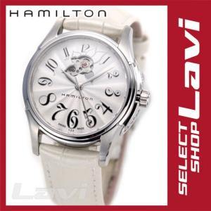 ハミルトン レディース 腕時計 Jazzmaster Lady Auto ジャズマスター レディ オート  ホワイトレザーウオッチ H32365313 ラッピング無料|store-jck