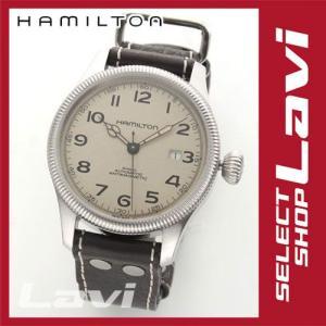 ハミルトン メンズ 腕時計 KHAKI カーキ コレクション PILOT オートマチック パイロット ウオッチ H60455593 ラッピング無料|store-jck